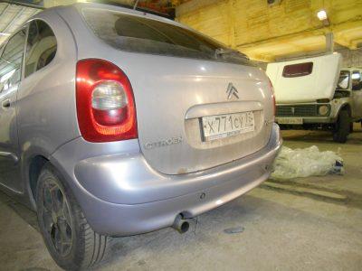 Кузовной ремонт и покраска Citroen Xsara