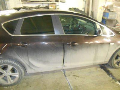 Кузовной ремонт и покраска Citroen C4