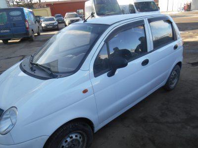 Кузовной ремонт и покраска Daewoo Matiz