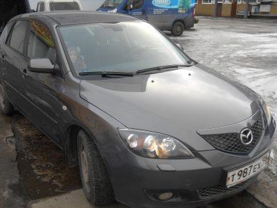 Кузовной ремонт и покраска Mazda 3