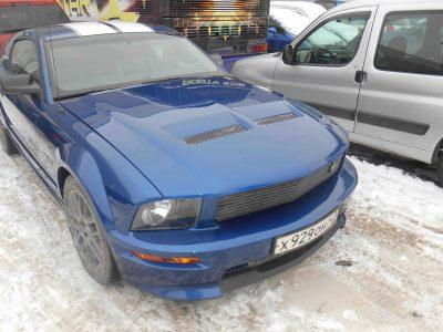 Кузовной ремонт и покраска Ford Mustang