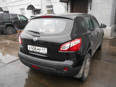 Кузовной ремонт и покраска Nissan Quashqai