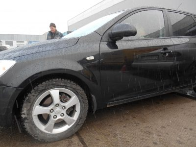 Кузовной ремонт и покраска Kia Rio