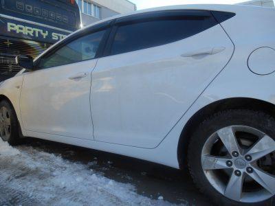 Кузовной ремонт и покраска Hyundai Solaris