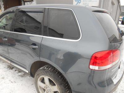 Кузовной ремонт и покраска Volkswagen Touareg