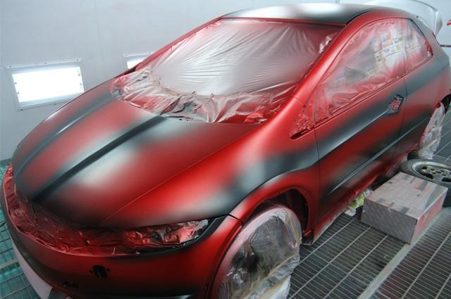 Заказать Полная покраска автомобиля в Санкт-Петербурге
